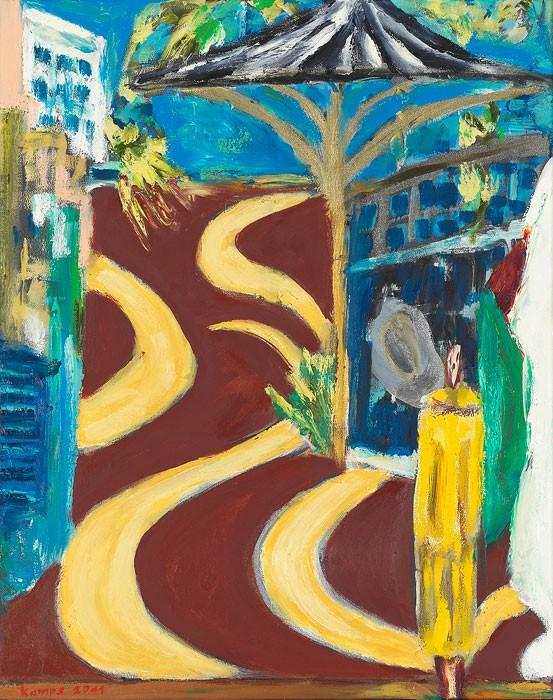 Schalom  2011  Oel auf Leinwand  50 x 40 cm/20 x 16 in