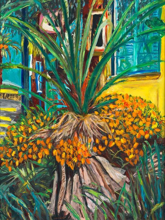 Le Palmier No. 2  2010 Oel auf Leinwand  160 x 120 cm/63 x 47 in