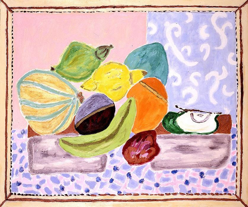 Fruits  1998 Oel auf Leinwand  100 x 120 cm/39 x 47 in