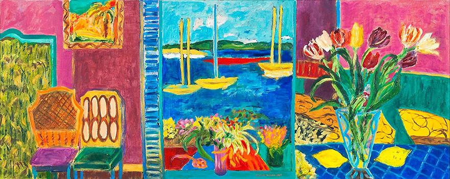 Intérieur méridional | 2009 | 60 x 150 cm