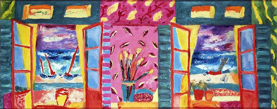 open windows | 2004 | 60 x 150 cm