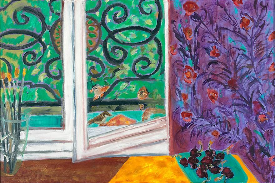 Les moineaux | 2009 | 60 x 90 cm