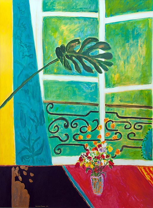 Grass – green window |2012 | 180 x 135 cm