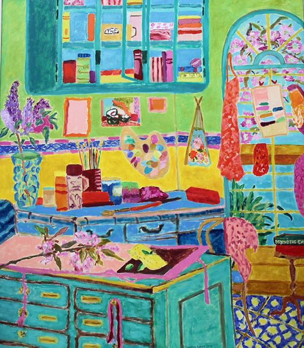 Mille couleurs et autre chose | 2005 | 150 x 130 cm
