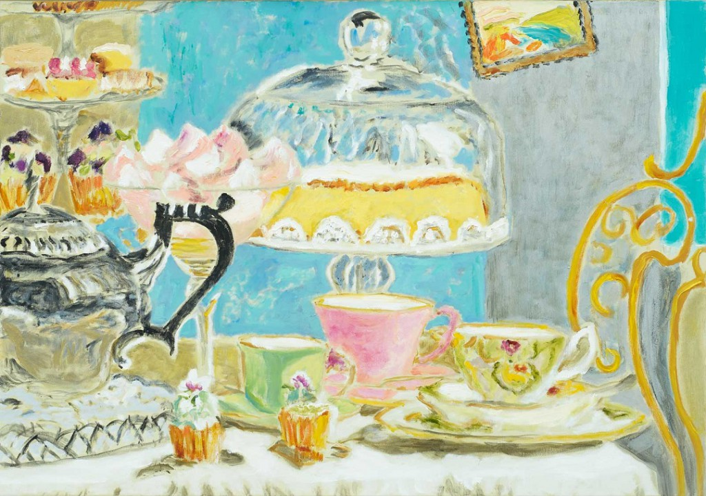 High Tea  2017  Oel auf Leinwand  70 x 100 cm/28 x 39 in