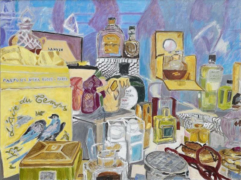 L'aire du Temps  2017  oil on canvas  120 x 160 cm/47 x 63 in