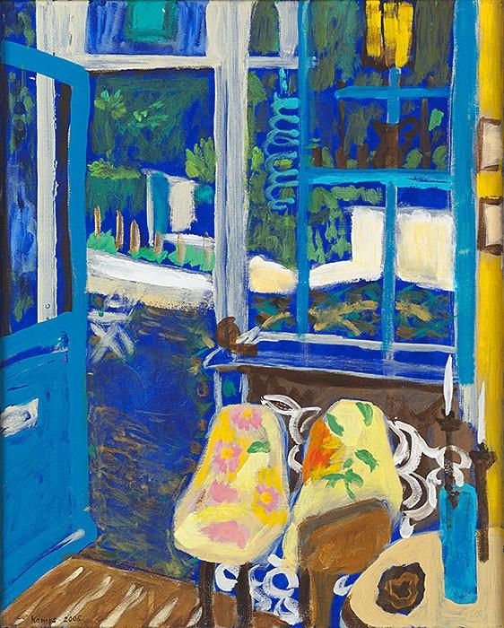 Àpres un tête-à-tête  2008  oil on canvas  50 x 40 cm/20 x 16 in