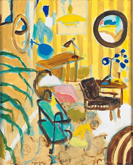 Chez l´Antiquaire  2008  oil on canvas  50 x 40 cm/20 x 16 in