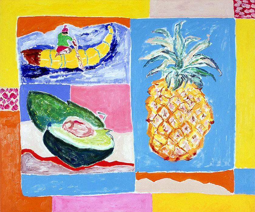 Pineapple | 2000 | 100 x 120 cm
